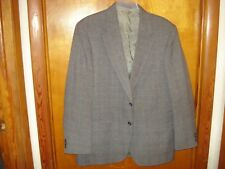 """Mens 2pc Suit from Blair Personal Choice Polyester Size 42R/38""""W X 32"""" L Gray"""