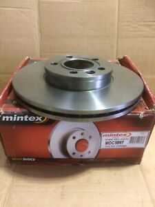 Mintex Mdc1542 Pair Front Vented Discs Fit,Galaxy,Sharan,Transporter,Alhamba