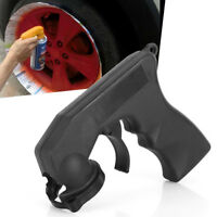 Black Vehicle Car Aerosol Spray Handle Paint Applicator Tin Can Trigger Gun Lock