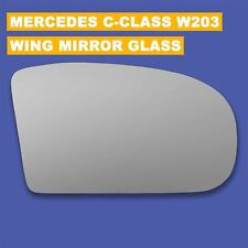 For Mercedes C-Class W203 2000-07 Right side Aspheric Electric wing mirror glass