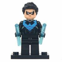 Nightwing Dick Grayson DC Superhero Mini Action Figure Toy Batman Serie Moc