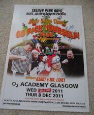 Trailer Park Boys - dec 2011 live music show memorabilia concert gig tour poster