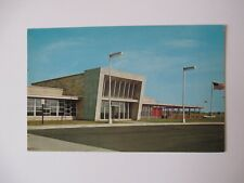 Glass House Restaurant Indiana East West Toll Road Unused Postcard