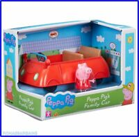 NEW Peppa Pig's Family Car with Articulated Peppa Pig Figure