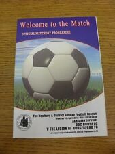 06/04/2014 Newbury Sunday League Lambourn Cup Final: Doc House v The Legion Of H