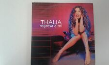 THALIA ( REGRESA A MI  ISRAELI 1TR PROMO CD  SINGLE HEBREW STICKERS