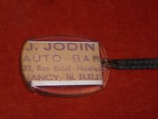 Porte-clé Keychain J JODIN AUTO BAR 23 Rue ST NICOLAS NANCY Photo du bar VELO