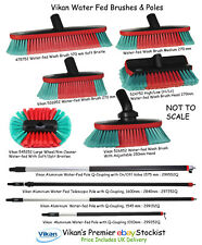 More details for vikan water fed brush waterfed water-fed wash brushes & poles / handles