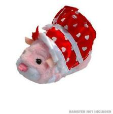 Zhu Zhu Hamsters Pet Outfit XOXO Red Love Heart Dress Clothes & Headband - New