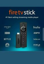 Amazon Fire TV Stick with Alexa Voice Remote Streaming Black NEW FACTORY SEALED