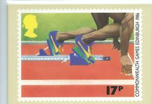 GB - PHQ CARDS - 1986- COMMONWEALTH GAMES/ WORLD HOCKEY - COMP. SET. MINT