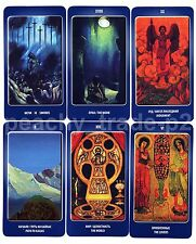 NEW RARE Tarot Agni Roerich ENGLISH REGULAR Based on Rider Waite Cards Deck
