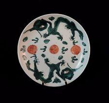 Coupelle en porcelaine COMPAGNIE DES INDES Famille verte Epoque TUNG CHIH