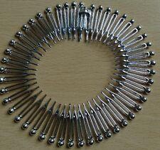 A Silver Bead tipped Zig Zag Shark Tooth Head/Hair Band