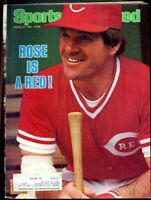 SI: Sports Illustrated August 27, 1984 Pete Rose Is A Cincinnati Red G