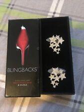 BLINGBACKS BNIB Shoe Jewellery Sparkly Gift Glamour Heel Cushion