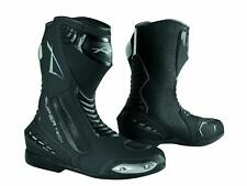Paddock Motorcycle Motobike Sport Boots Racing Track Performance Evo Black 43