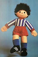 Sewing pattern Jean Greenhowe Football Mascotte doll toy 53 cm Tall Boys RARE