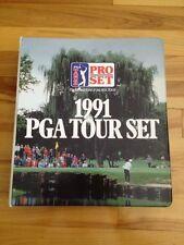 Pga Tour Card Set. 1991