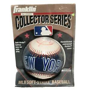 Official Franklin MLB New York Yankees Soft Strike Baseball 1995 Vintage