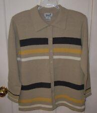 IMAGIO Striped Sweater - SZ L