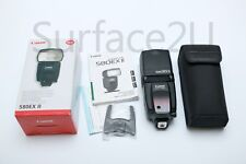 Canon Speedlite 580EX II Shoe Mount Flash in Retail Packaging Fast Free Ship