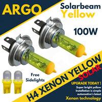 H4 100w Xenon Hid Super Yellow 501 Led Side Lights Headlight Lamps 472 Bulbs 12v