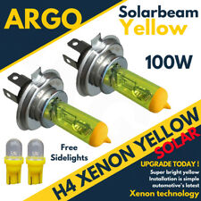 H4 Xenon Yellow 100w Headlight Bulbs Super 472 Head Lamps 501 Led Sidelights 12v