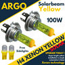 H4 Super Amarillo Vision Xenon Bombilla Halógena 55/100 Vatios 472 P43t 501 LED