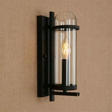 Modern Wall Light Indoor Wall Lamp Home Glass Lighting Bedroom Black Wall Sconce