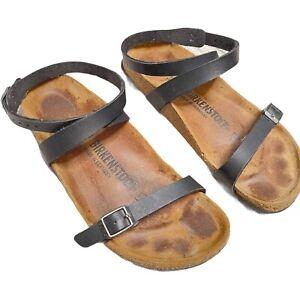 Birkenstock Daloa Black Ankle Strap Women's EU 36  Size US 5 - 5.5 Sandal