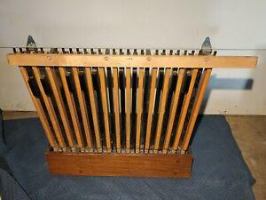 Vintage Baldwin Model 45 Organ 25 Note Bass Pedal Assembly