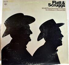 Flatt & Scruggs-20 Great Recordings -Deluxe 2 Record LP Columbia CS 1030 Good