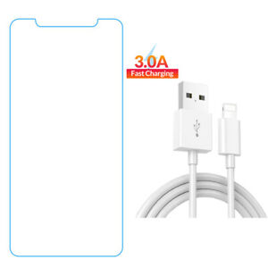"""For iPhone X XR XS 11 Pro Max 6.5""""/6.1''/5.8'' Anti-Blue Light Tempered Glass"""