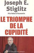 JOSEPH STIGLITZ LE RIOMPHE DE LA CUPIDITE NOBEL + PARIS POSTER GUIDE