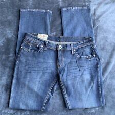 Machine Jeans Nouvelle Mode Women's Embellished Dark Wash Size 32 Inseam 33