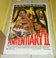 original PENITENTIARY II one-sheet poster Leon Isaac Kennedy Mr. T