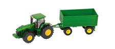 John Deere 8430 Tractor con Remolque 1:50 Juguete Regalo Navidad