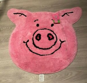 🐷 [SOLD OUT] - Percy Pig Pink Bath Mat M&S Marks and Spencer🐷