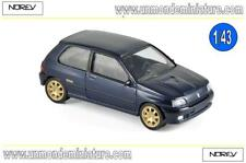 Renault Clio Williams 1993 Blue Green Jet-Car NOREV - NO 517522 - Echelle 1/43