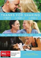 Thanks For Sharing (DVD, 2014) M Ruffalo T Robbins G Paltrow A Moore LIKE NEW