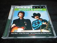 Brooks & Dunn - Super Hits  *LIKE NEW/FREE SHIPPING!*  (CD/2007)
