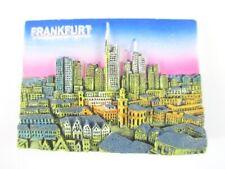 Frankfurt Skyline Magnet 3D Optik 7 cm,Souvenir Germany,Neu