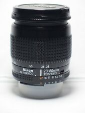 Nikon NIKKOR AF 28-80mm f3.5-5.6 D Lente Per Nikon D5300 D7000 D7100 D3200 D7100