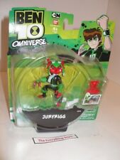 BANDAI BEN 10 OMNIVERSE JURYRIGG FIGURE 32352 NEW ON CARD FREE USA SHIP