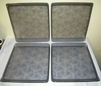a Lot of 4 Delta Airlines Serving Trays ~ Made in Portugal by Alessi