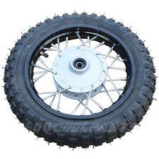 "10"" Front Wheel Rim Tire Assembly for 50cc 70cc 110cc Dirt Bikes"