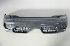 Genuine Mini R56 R57 06-10 pare-chocs arrière Centre Fog Light Trim Ring Chrome
