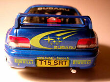 SUBARU IMPREZA rally racing, scale 1/43 unopened on plinth