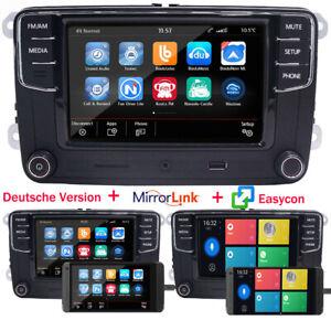 Autoradio RCD330 MirrorLink EasyLink Deutsch USB Für VW Golf Passat Polo EOS